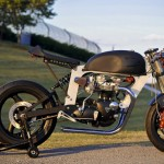 Bucephalus Triumph Custom Motorcycle right beauty
