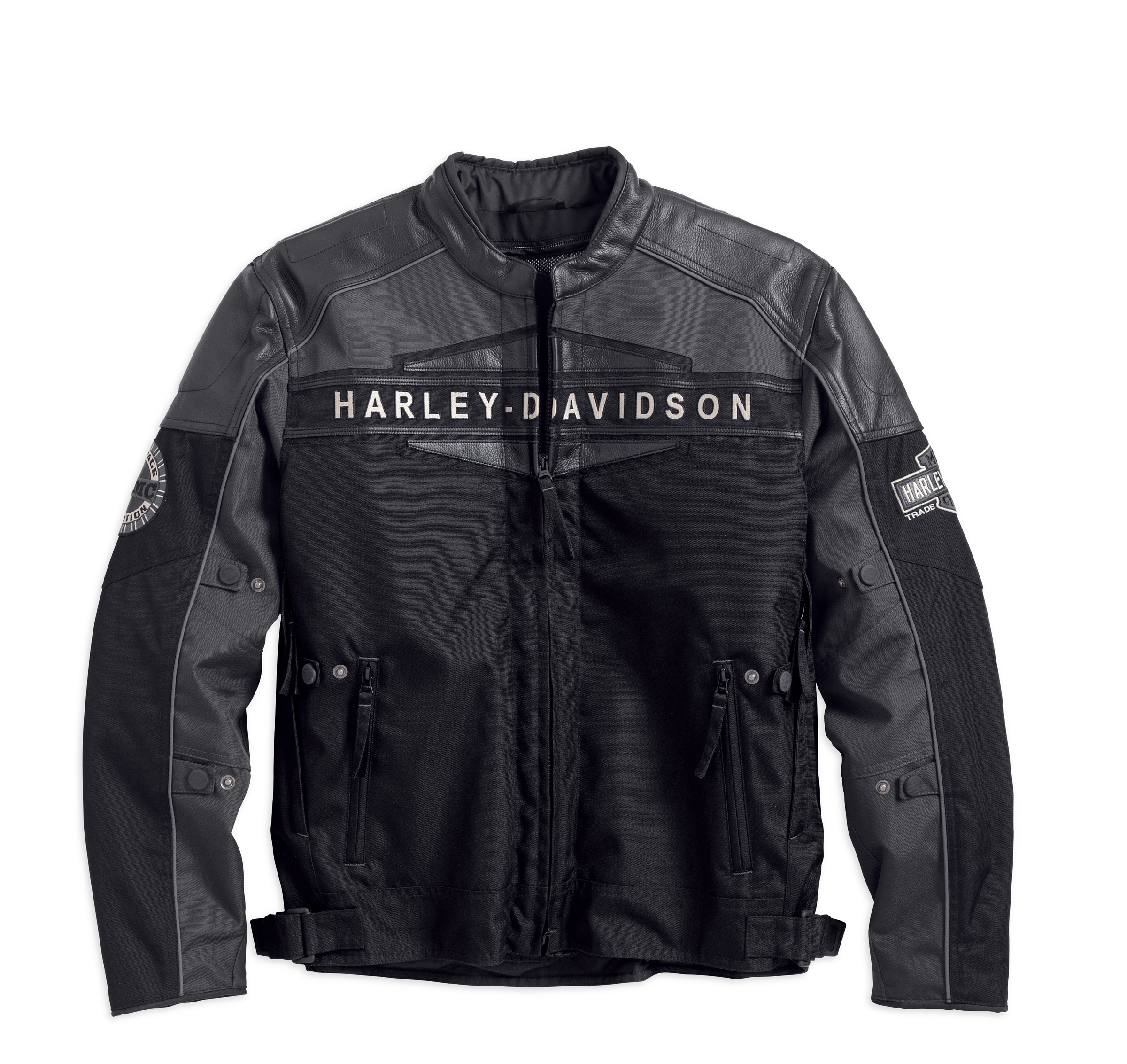 jacket harley davidson jackets motorcycle liner highland reflective thermal technology mens announces four functional xl motorcycles 2040 parts front