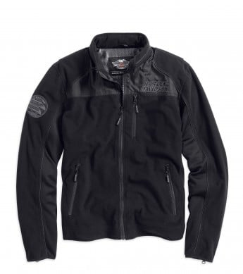 H-D Men's Windproof Fleece Jacket