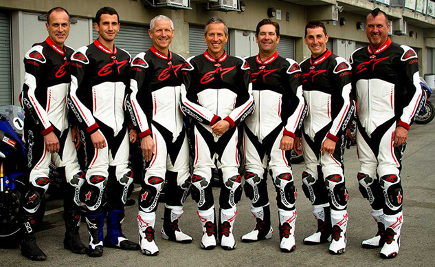 Yamaha Champions Riding School instructors