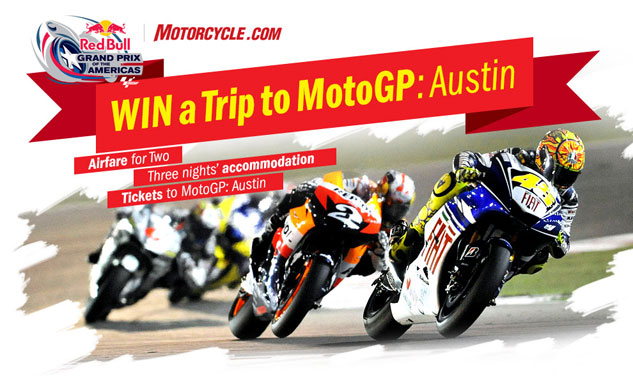 Win a Trip for Two to MotoGP: Austin at the Circuit of the Americas - Grizzly Riders - Yamaha ...