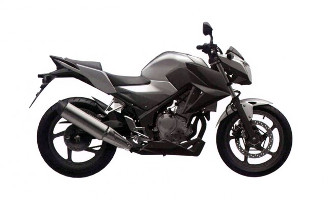 Honda CB300F trademark rendering right profile