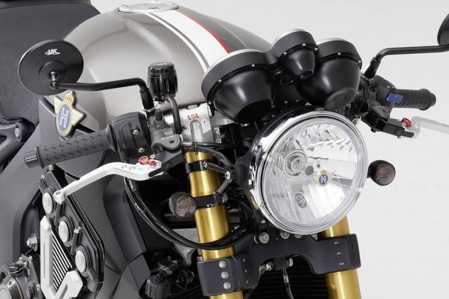 Horex VR6 Cafe Racer 33 ltd. headlight triple clamp