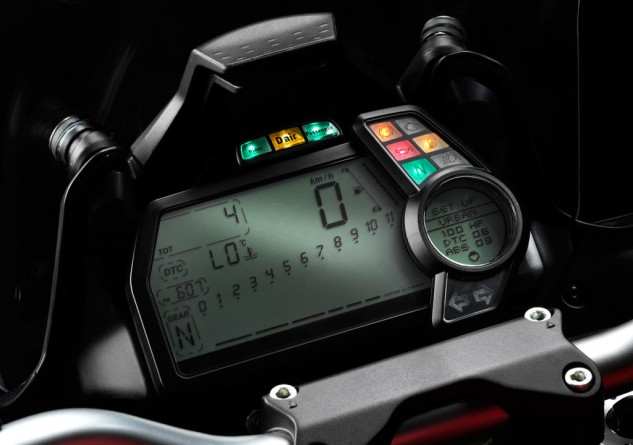 Ducati Multistrada D-Air instruments