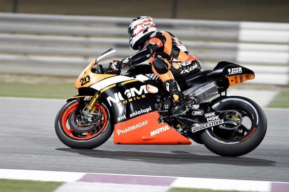 2014 NGM Mobile Forward Racing Team 01 Qatar GP