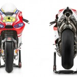 Ducati GP14 Crutchlow front and back profile