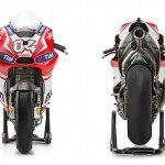 Ducati GP14 Dovizioso front and rear profile