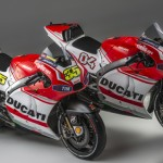Ducati GP14 Dovizioso and Crutchlow together