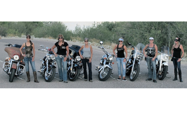 Women Riders group
