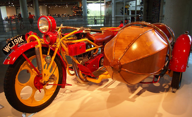 barber recognized by guinness as world�s largest motorcycle museum