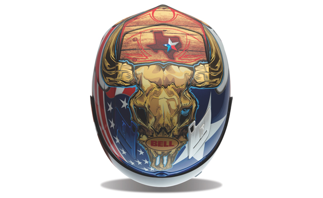 COTA Commemorative Helmet_top