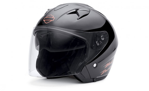 Helmet with Retractable Sun Shield