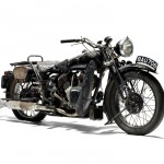 1935 Brough Superior 1,096cc 11-50hp- three quarter view