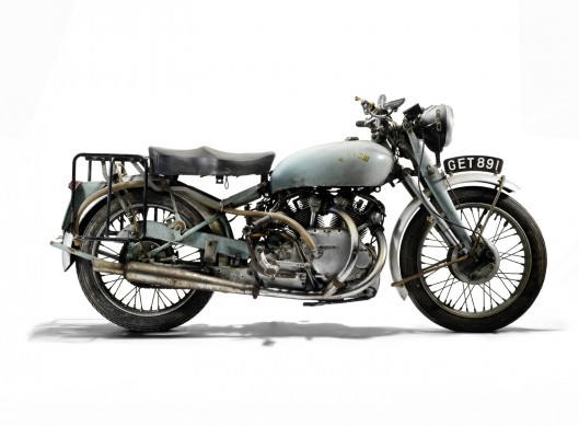 1951 Vincent 998cc Rapide Project  – right facing