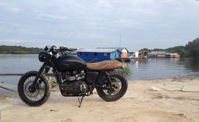Beckham Bonneville by River