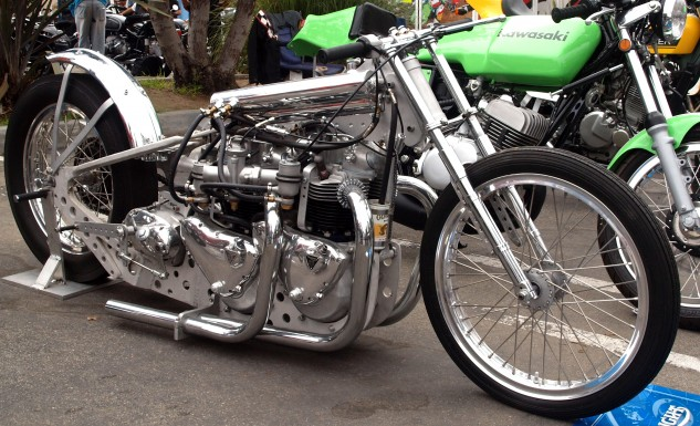 Double-engined Triumph