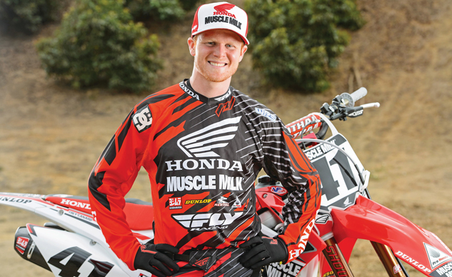 2014 Team Honda Muscle Milk – Trey Canard