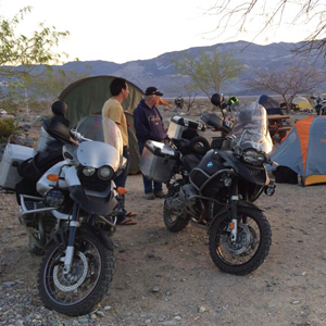 BMW Motorcycle Festival camping