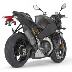 EBR 1190SX black 3/4 right rear