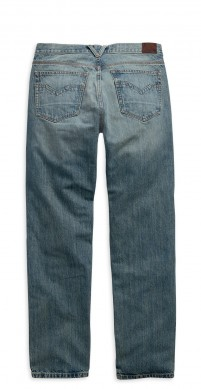 H-D Men's Modern Straight Jeans-back