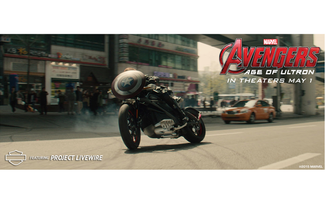 Harley Davidson Confirms Project Livewire Will Appear In Avengers