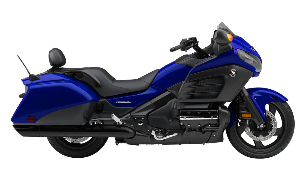 2015 Honda Gold Wing and Gold Wing F6B Mark 40th Anniversary - Motorcycle.com News