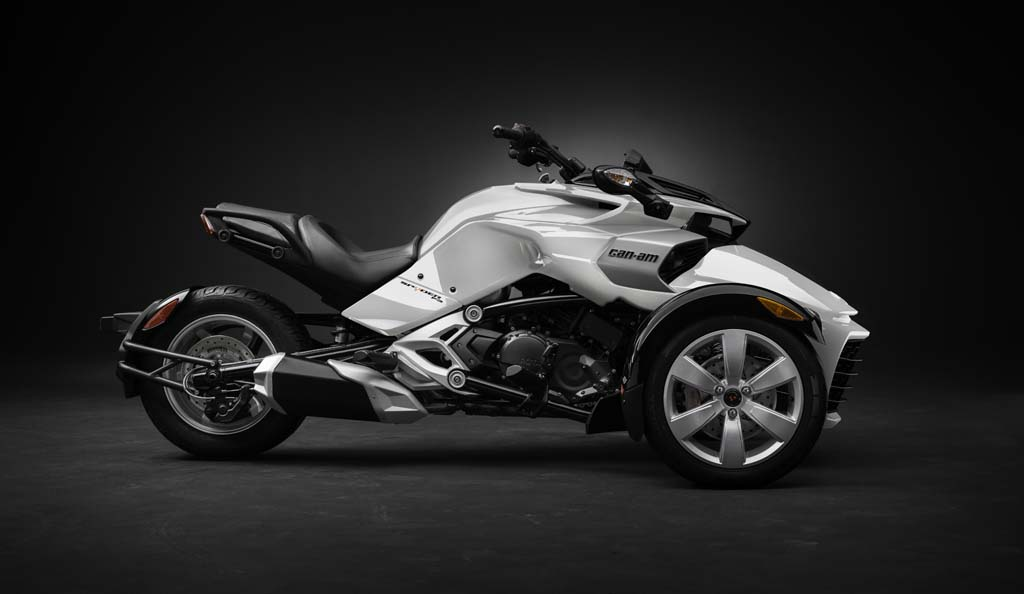 2015 Can Am Spyder F3 Revealed Motorcycle Com News