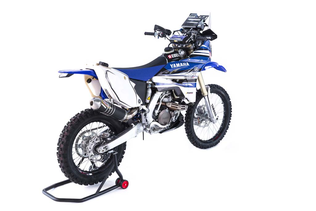 2015 yamaha wr450f rally racer revealed news. Black Bedroom Furniture Sets. Home Design Ideas