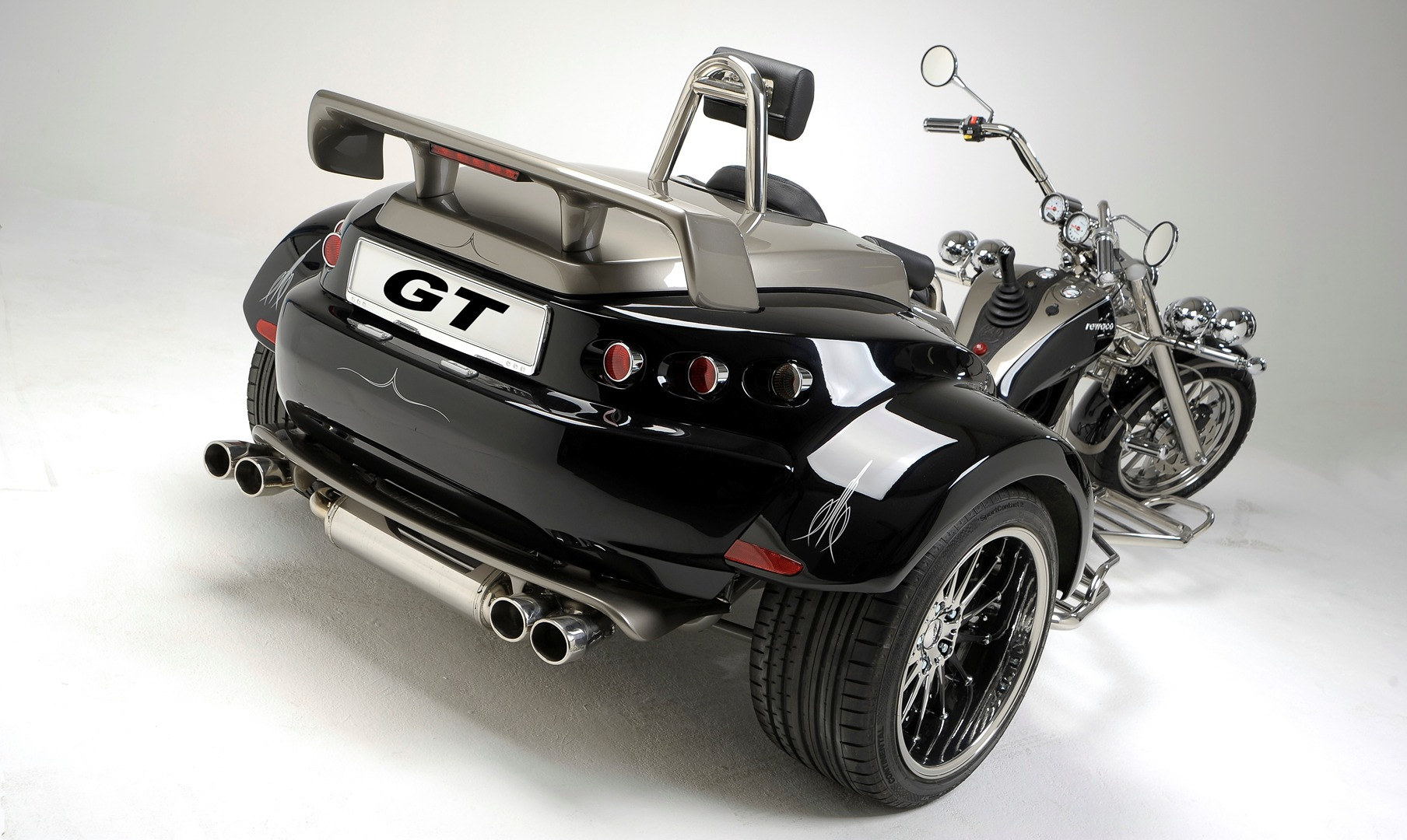 rewaco motorcycle trike automatic transmission gt offered