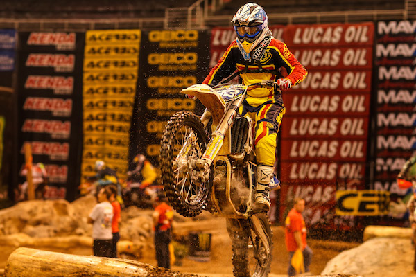 Sandra Gomez claimed her first EnduroCross victory in Salt Lake City