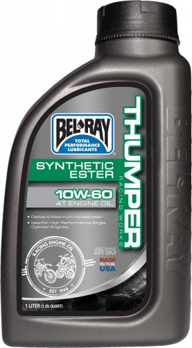 Bel-Ray Works Thumper Racing Synthetic Ester 4T Engine Oil 10W-60 (High Res) copy