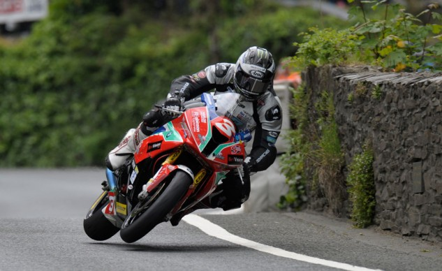 Michael Dunlop settled for second despite laying down a race-best 130.932 mph average speed on the first lap. Photo by SimonWilliamsPhotography.