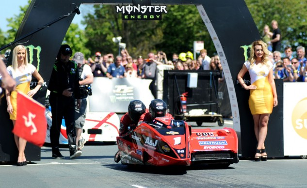 Dave Molyneux and Benjamin Binns set a new lap record on the final lap. Molyneux didn't add to his 17 prior TT wins but he did score career podium #29, tying him for fourth all-time with Ian Lougher.
