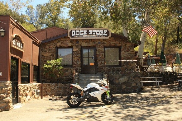 Energica Ego at Rock Store