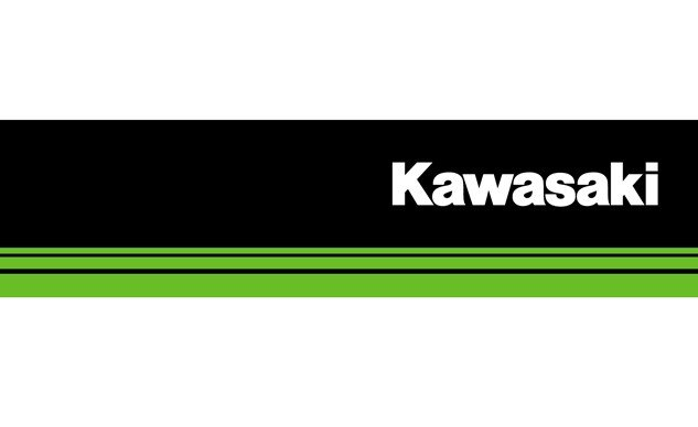 kawasaki updates logo for 50th anniversary motorcycle