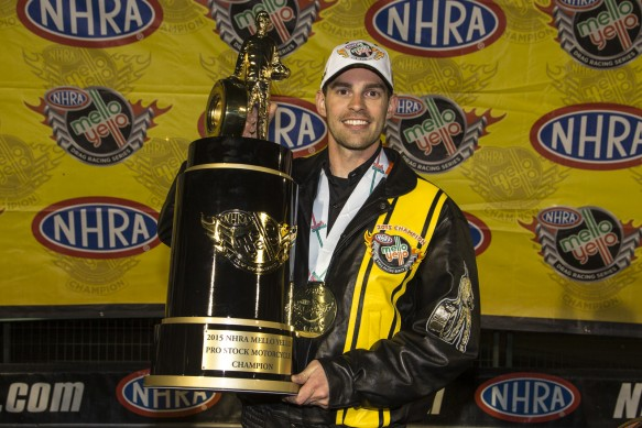 Hines World NHRA PSM Champ 2015