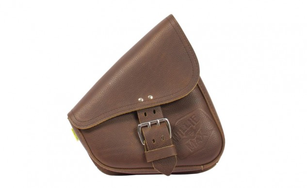 Limited Edition Brown Leather Swingarm Bag