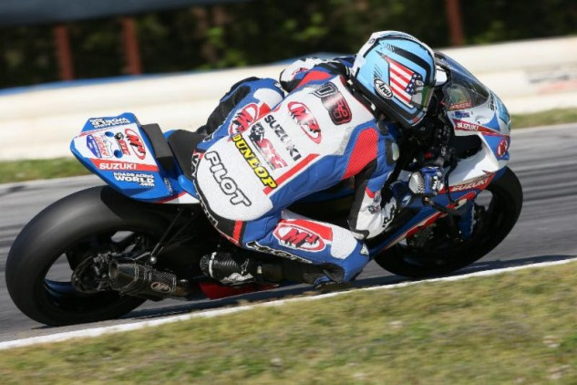 Frenchman Valentin Debise has turned heads in the opening two rounds of the series.