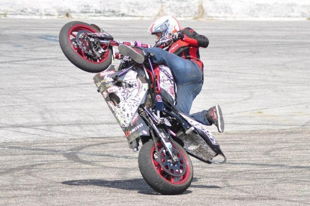 Freestyler Aaron Twite will perform at the official Kick-Off Party for the Suzuki Superbike Shootout of Georgia on Thursday, April 14 from 6 to 8 p.m. at Hour Glass Cycles.