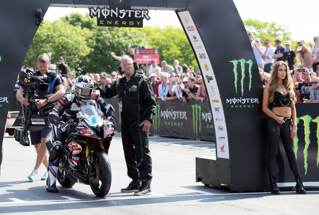 Michael Dunlop was disqualified after a post-race inspection, negating what would have been a second-place finish. Photo by IOMTT.com