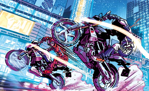 """BMW Announces """"Riders of the Storm"""" Graphic Novel"""