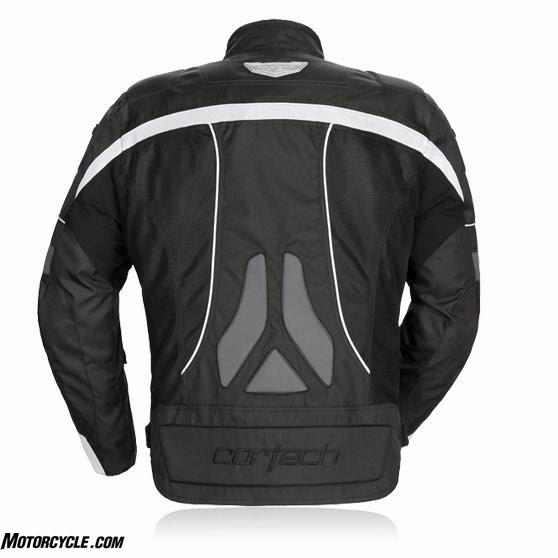 Cortech VRX Air Mesh Jacket back