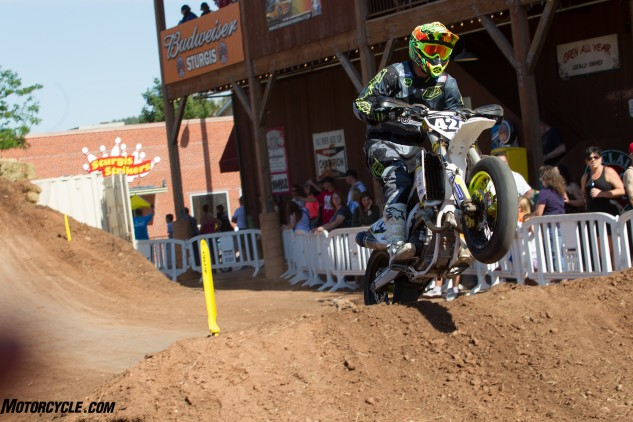 Josh Jackson (424) moved back into the Pro Lites Championship lead after scoring his second win of the season.