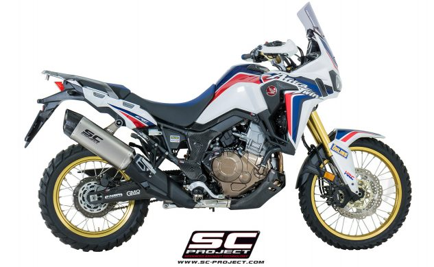 MUFFLER HONDA AFRICA TWIN CRF1000L EXHAUST ADVENTURE BEST TOP EX
