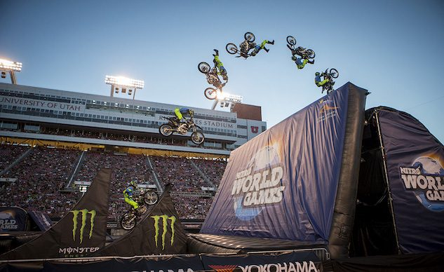 FMX Best Trick at Nitro World Games - Motorcycle com News