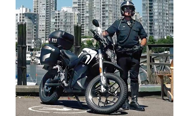 Zero Motorcycles Add 100th North American Police Agency