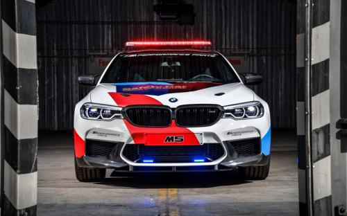 MotoGP BMW M5 Safety Car