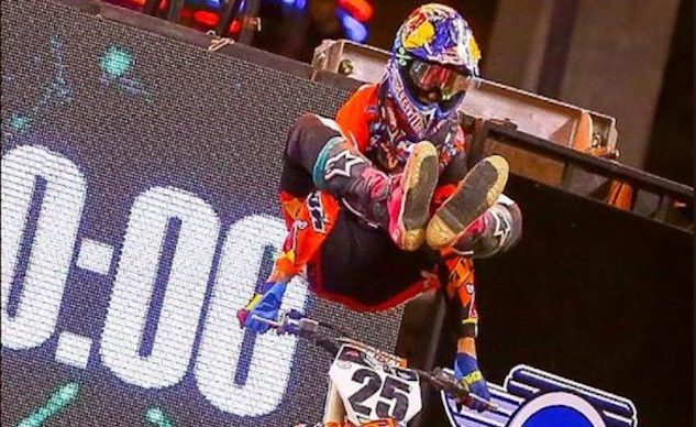 Marvin Musquin Indianapolis Supercross 2018