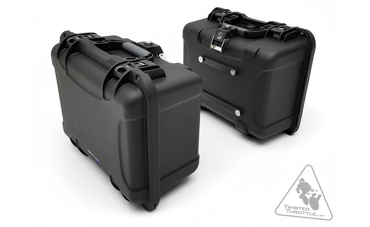 Dryspec H35 A Lock Waterproof 35l Side Case Set In Black Is Ideal For Motorcycle Travel Across Difficult Terrain Uncertain Weather Or Unsecure Locations
