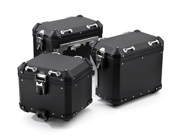 BMW R 1200 GS Black Edition Aluminum Cases